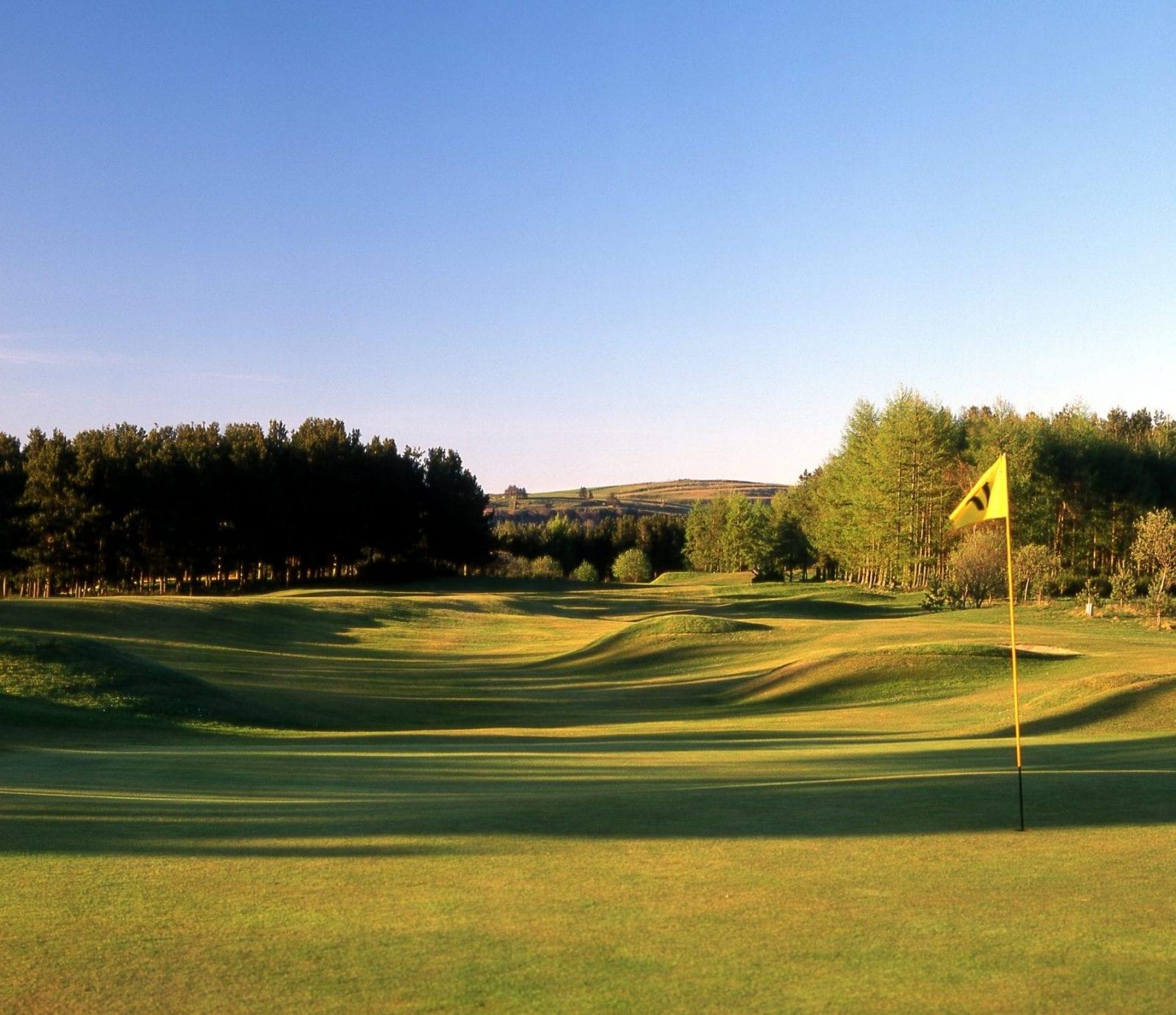 Forfar Golf Club hole