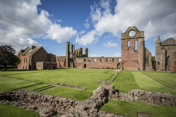 Arbroath Abbey Side View