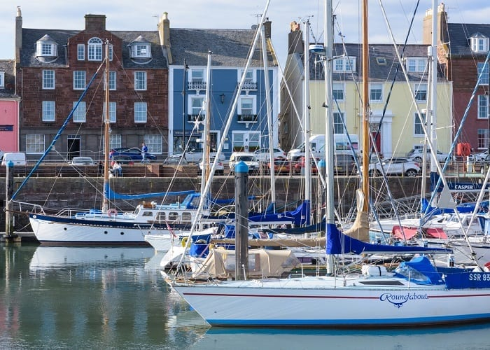 Arbroath Harbour, Angus, Scotland