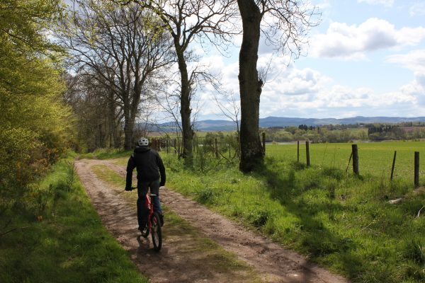 Cycling in Angus